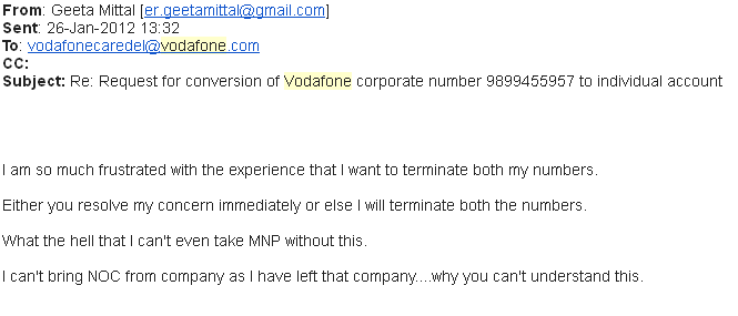 Customer complaint against vodafone randomnomics 26 january vodafone complaint thecheapjerseys