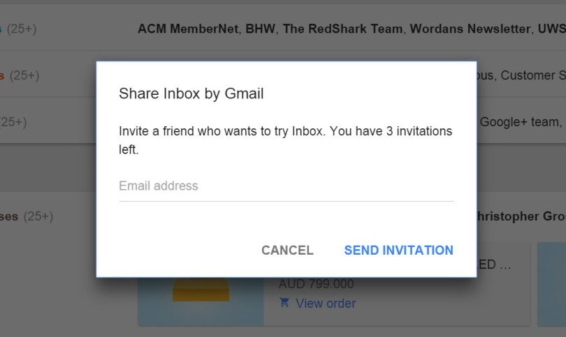 akhilsethi randomnomics blog google gmail inbox 3 invites available
