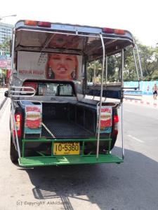 akhilsethi blogpost randomnomics  Pattaya's Songtaews buses